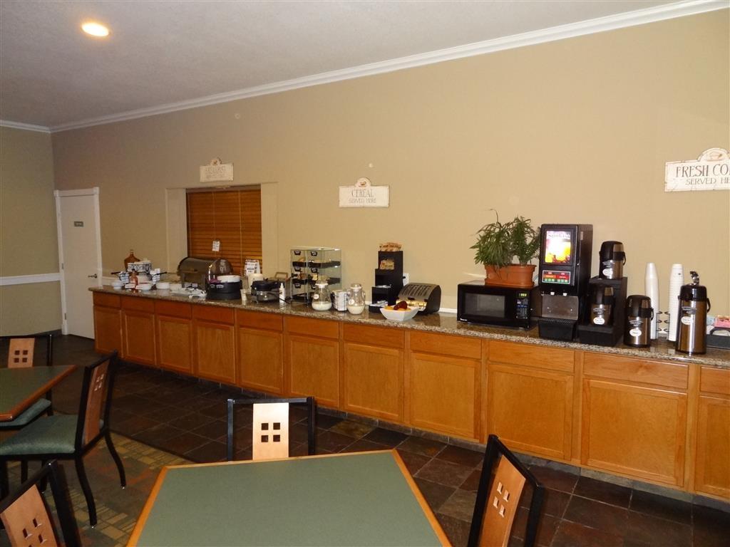 Best Western Hebbronville Inn - Même si vous êtes pressé, ne manquez pas le repas le plus important de la journée.