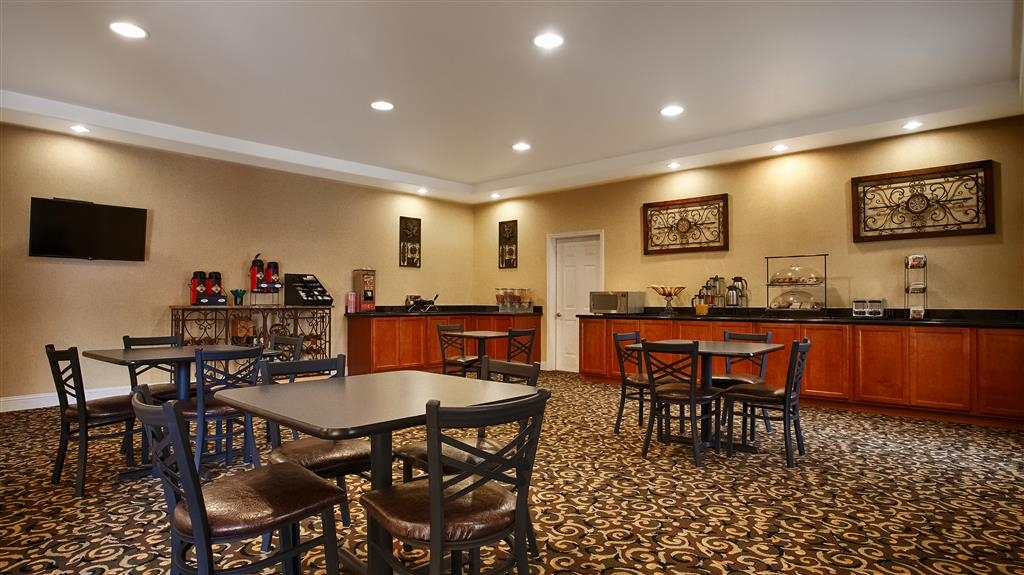 Best Western Comanche Inn - Salle de petit déjeuner