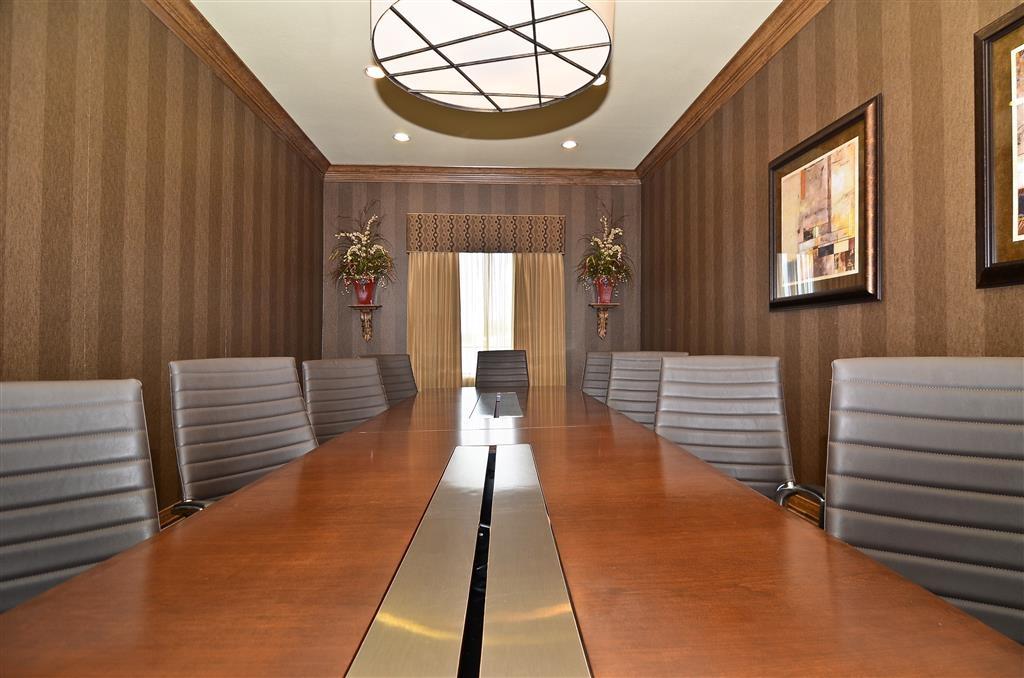 Best Western Plus Christopher Inn & Suites - sala de juntas