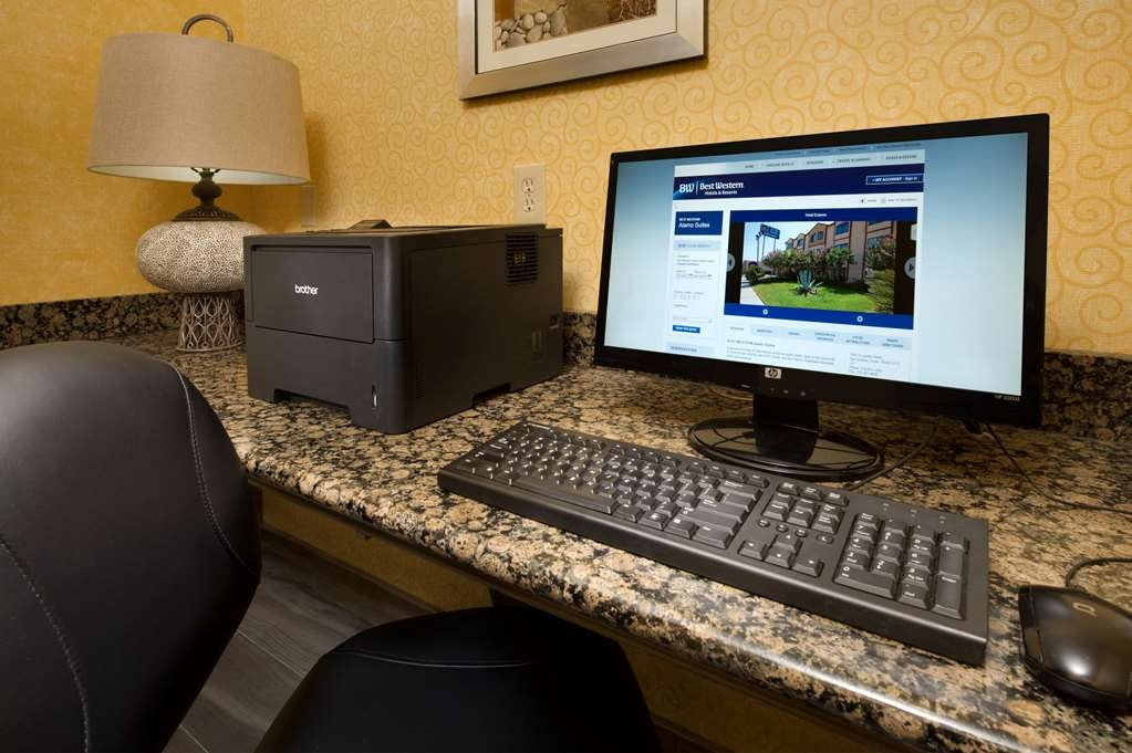 Best Western Alamo Suites - Print out your boarding pass or look up directions to a local sporting event or hot spot.