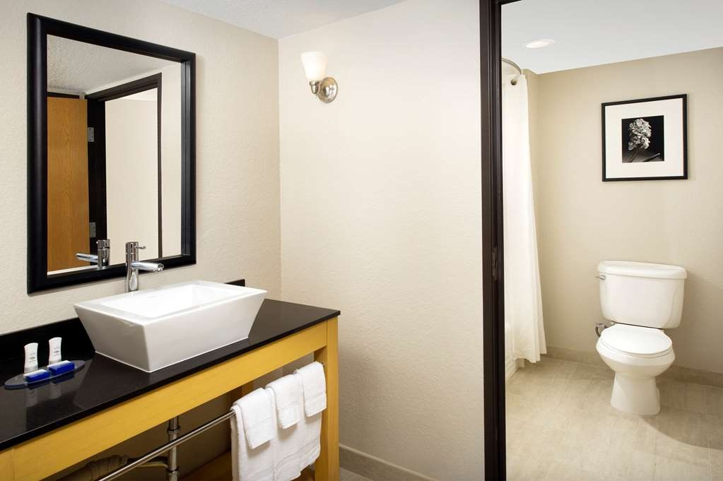Best Western Alamo Suites - Enjoy getting ready for the day in our fully equipped guest bathrooms.