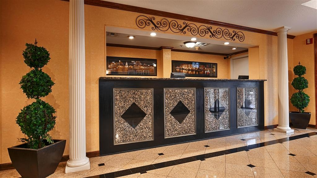 Best Western Alamo Suites - Our front desk is happy to provide all the comforts of home for you during your stay.