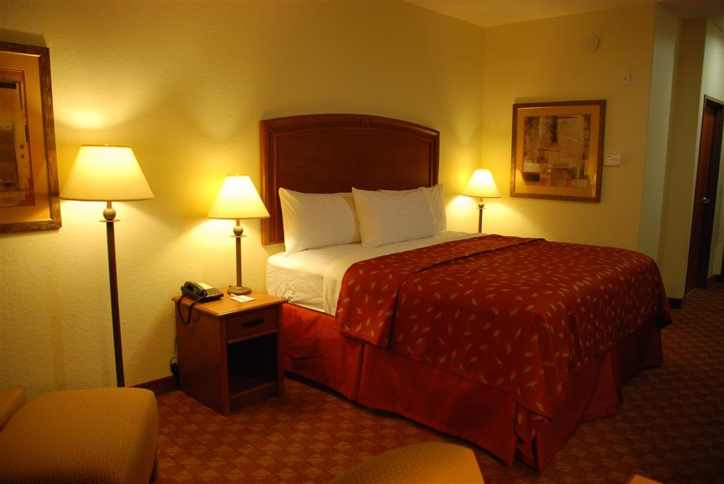 Best Western Plus San Antonio East Inn & Suites - Gästezimmer mit Queensize-Bett