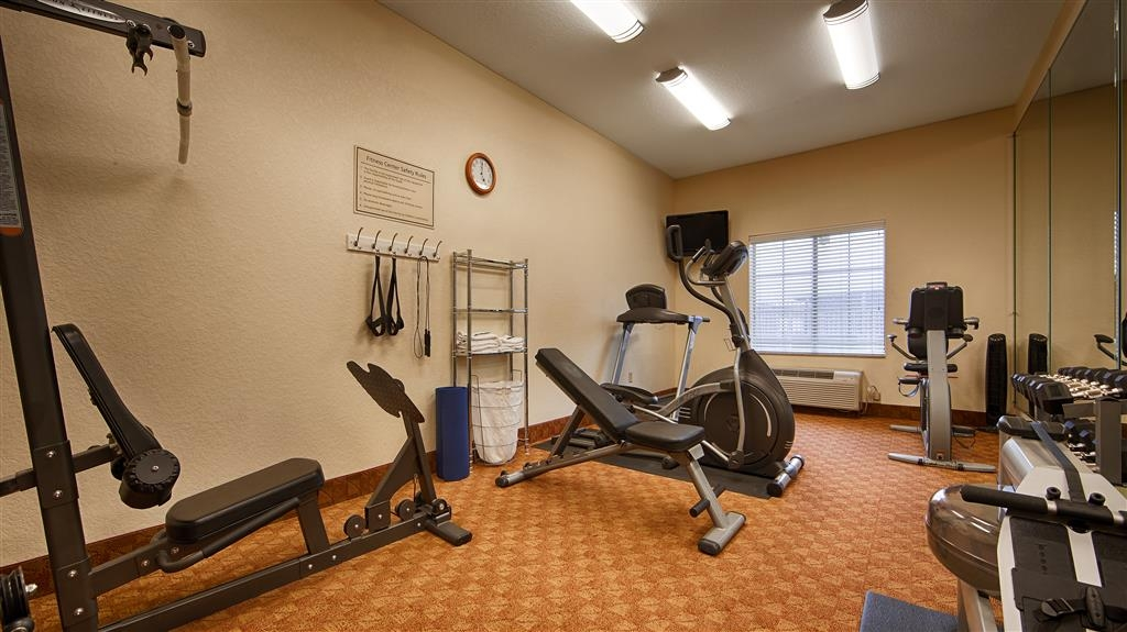 Best Western Plus San Antonio East Inn & Suites - Fitnessstudio