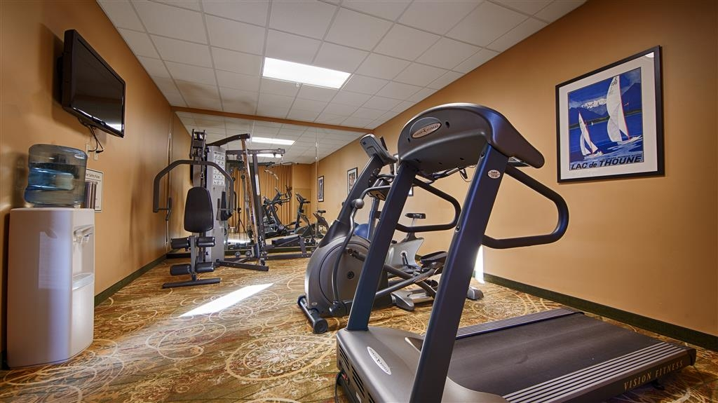 Best Western Plus Swiss Chalet Hotel & Suites - Centro fitness