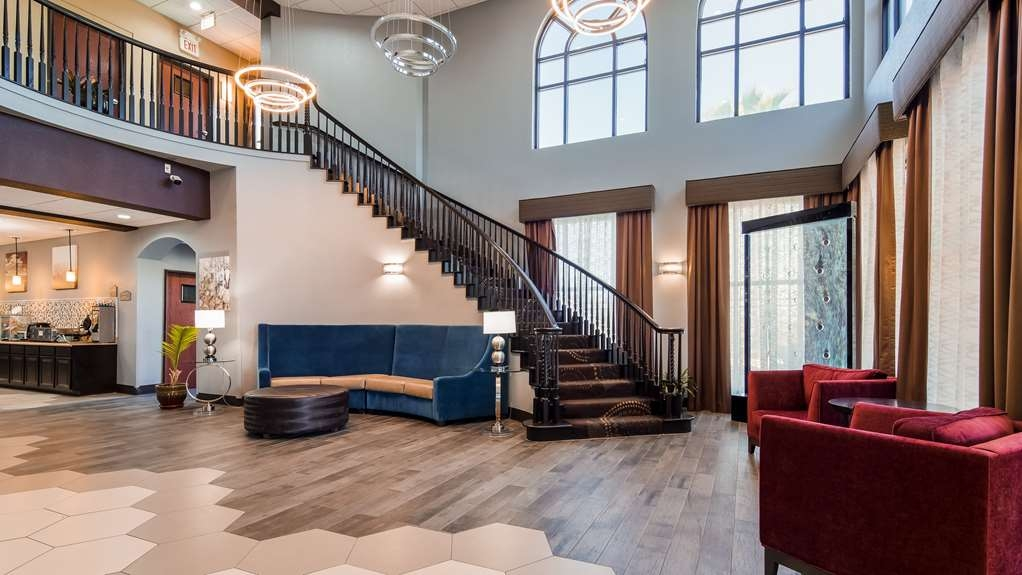 Best Western Hondo Inn - Vue du lobby