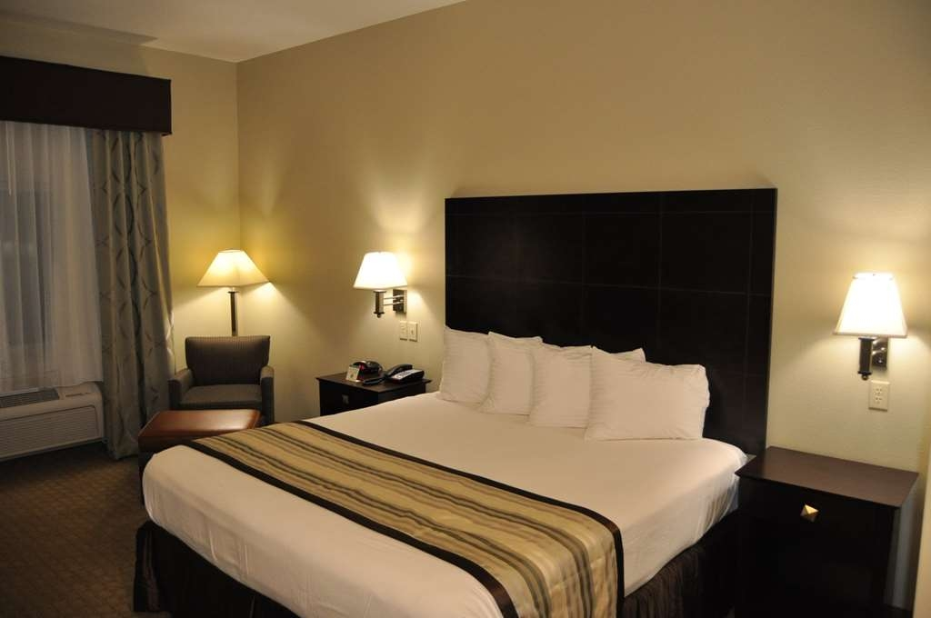 Best Western Oasis Inn - Our spacious king guest room has all the comforts of home at your fingertips.