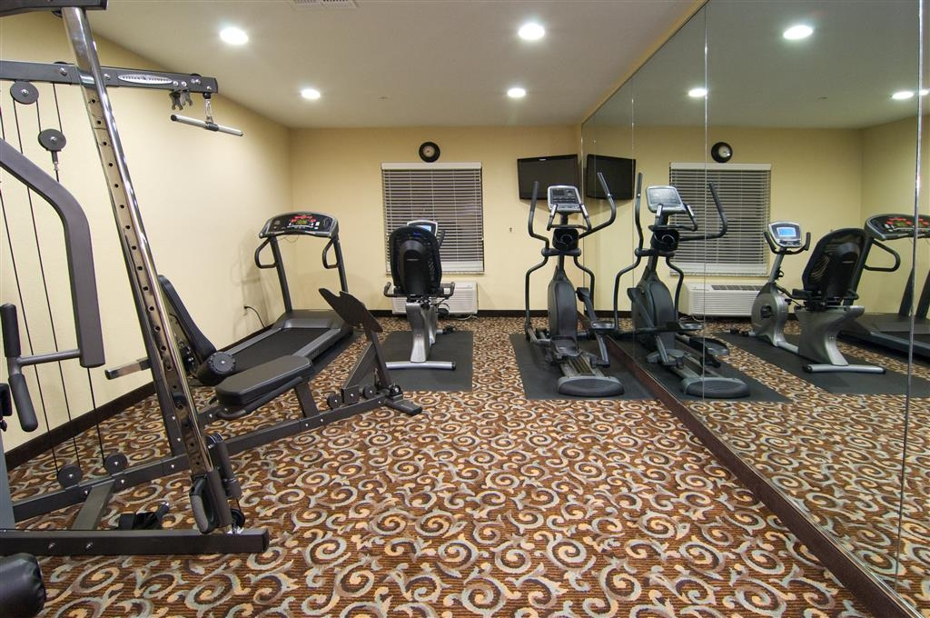 Best Western Bastrop Pines Inn - Stay healthy while visiting Bastrop, TX in our fully equipped fitness center.