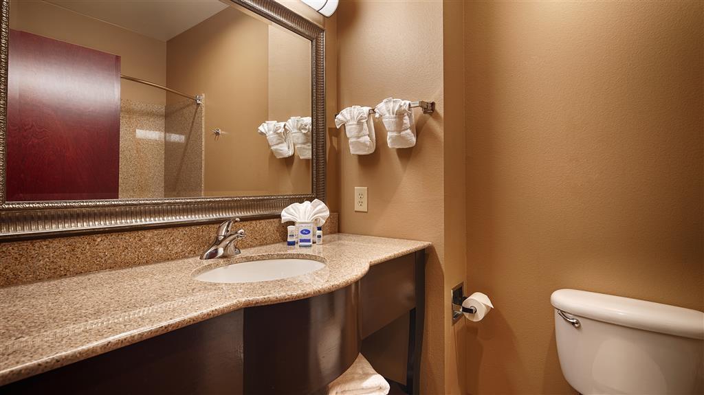Best Western Lamesa Inn & Suites - Guest Bathroom