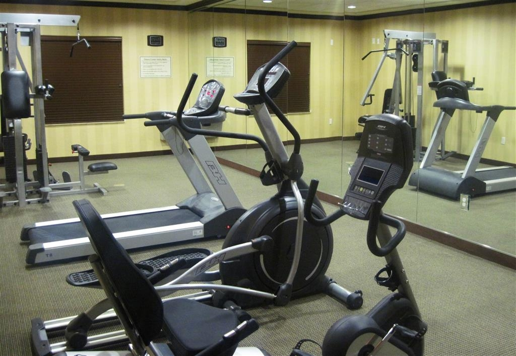 Best Western Plus Midland Suites - Stay healthy while visiting Midland, TX in our fully equipped fitness center.