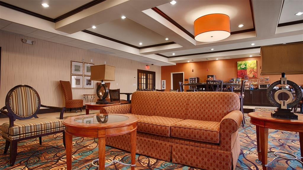Best Western Plus Midland Suites - Hall dell'hotel