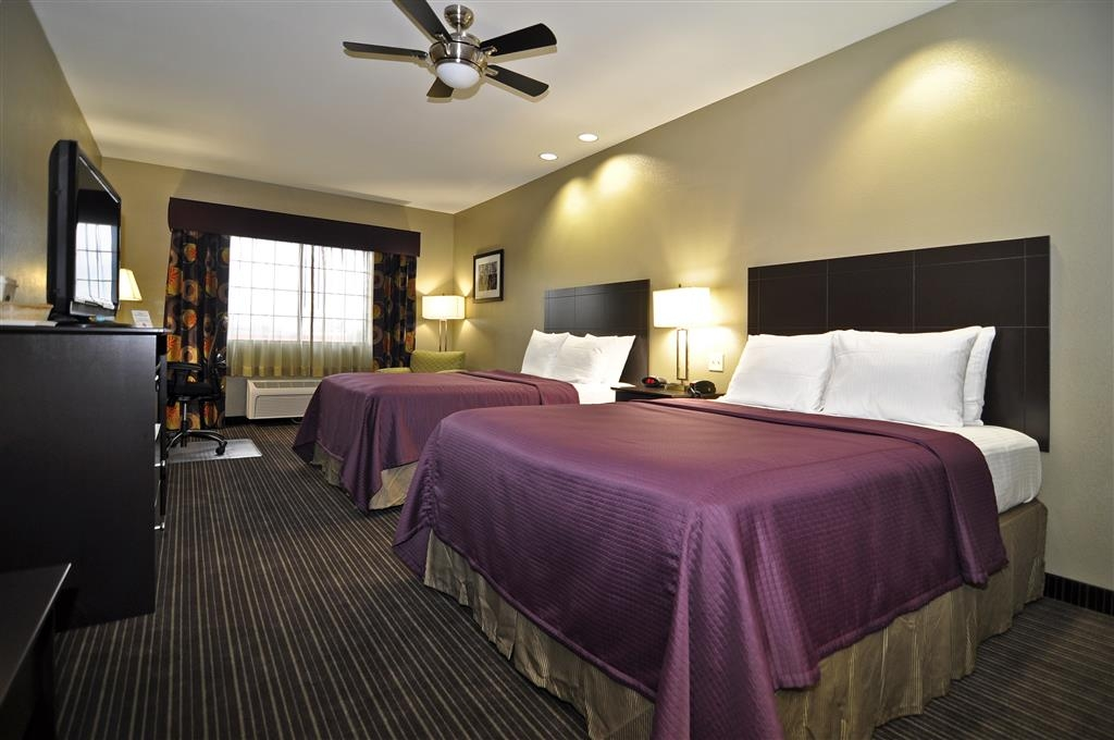 Best Western Giddings Inn & Suites - Touring the city with a close friend? Book our convenient two queen guest room.
