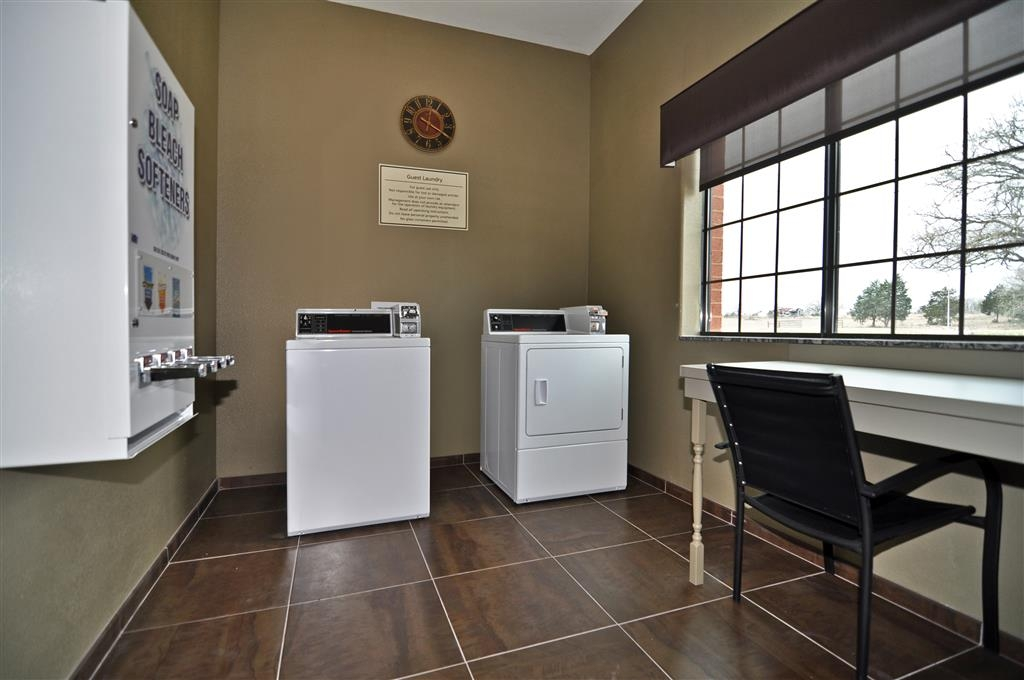 Best Western Giddings Inn & Suites - Staying awhile? Laundry facilities and soap dispenser are available for all guests.