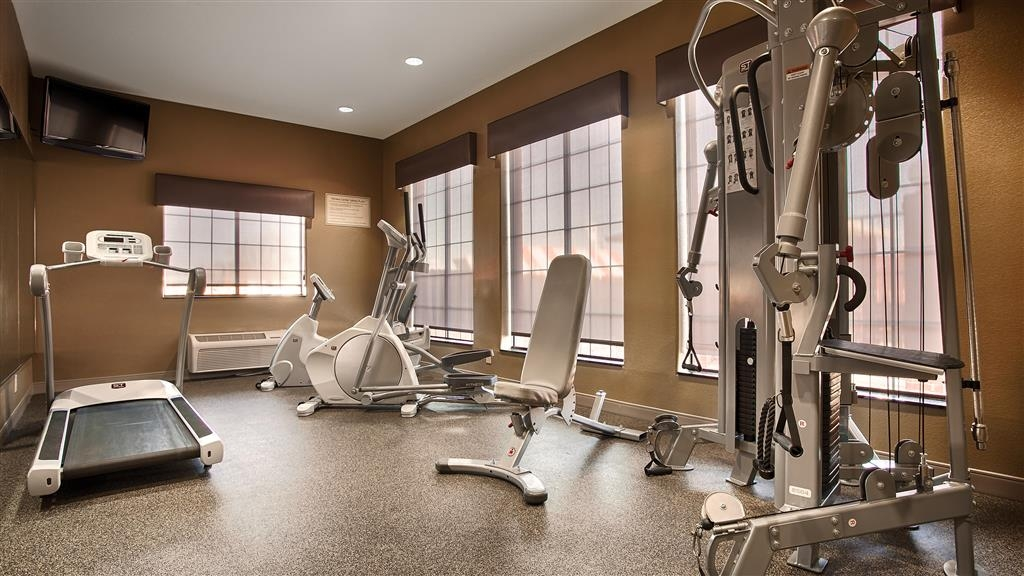 Best Western Giddings Inn & Suites - There is no need to take a break from your regular fitness routine during your stay with us.