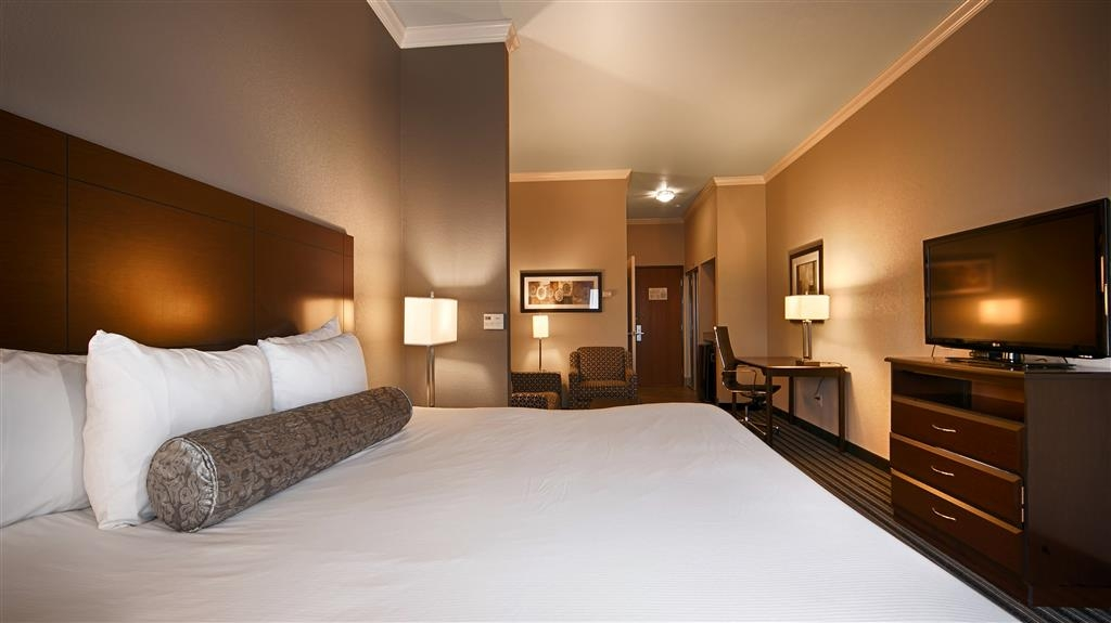Best Western Plus Austin Airport Inn & Suites - Camera con letto king size