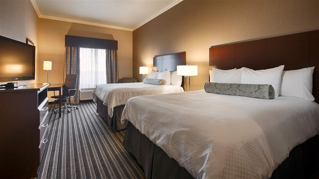 Best Western Plus Austin Airport Inn & Suites - Camera con due letti queen size