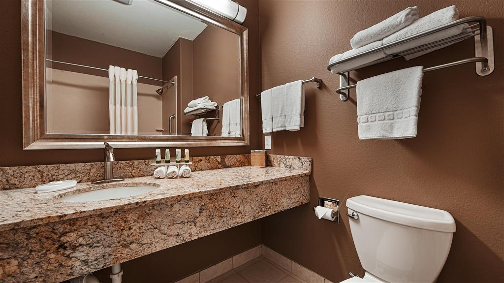 Best Western Plus Lytle Inn & Suites - Baño