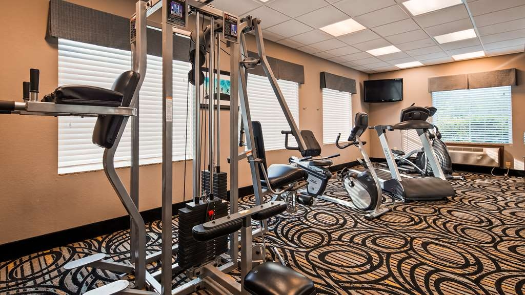 Best Western Plus Kenedy Inn - Fitnessstudio