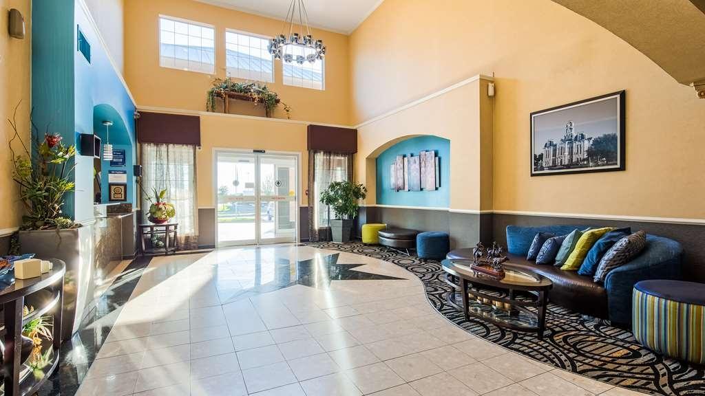 Best Western Plus Cutting Horse Inn & Suites - Vue du lobby
