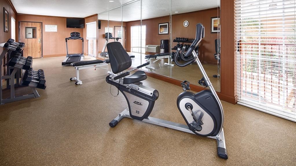Best Western Plus Atrium Inn - sala de ejercicios