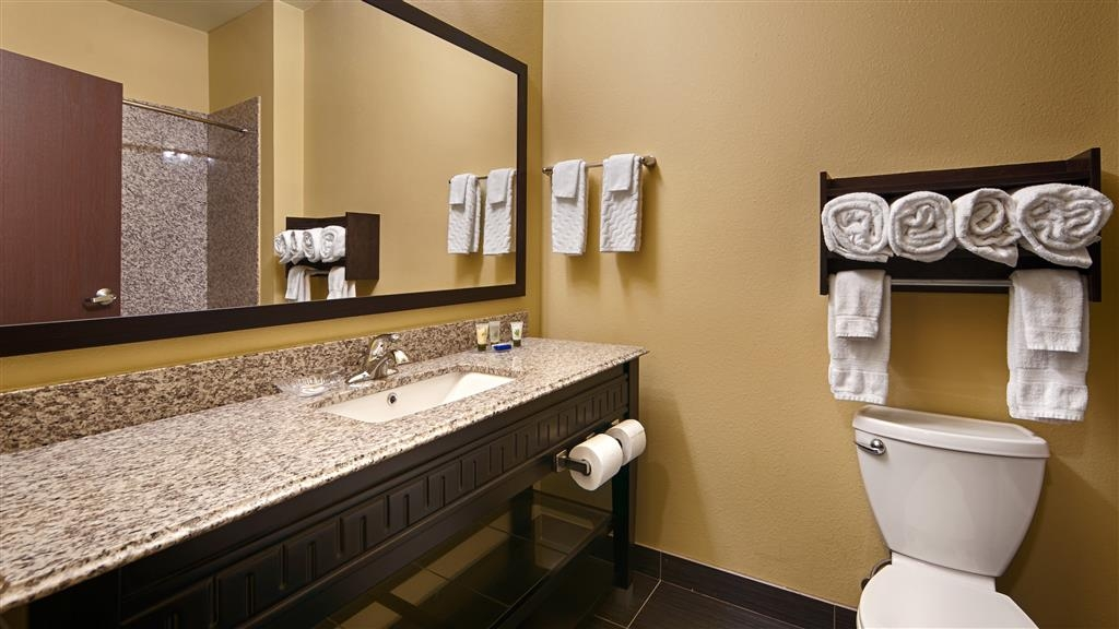 Best Western Plus Carrizo Springs Inn & Suites - Bathroom