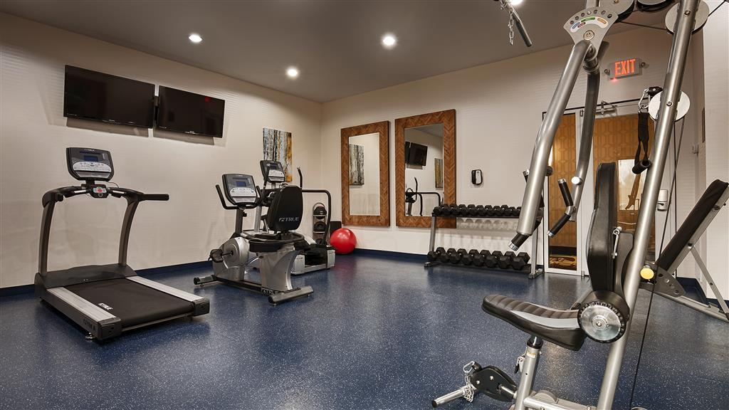 Best Western Premier Ashton Suites-Willowbrook - Sala fitness