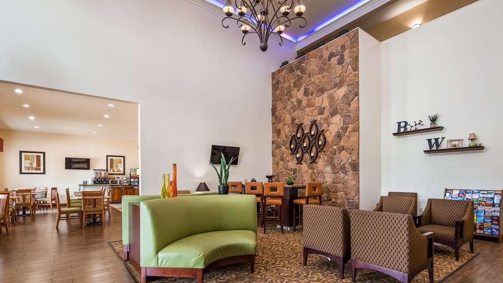 Best Western Plus Hobby Airport Inn & Suites - Vue du lobby