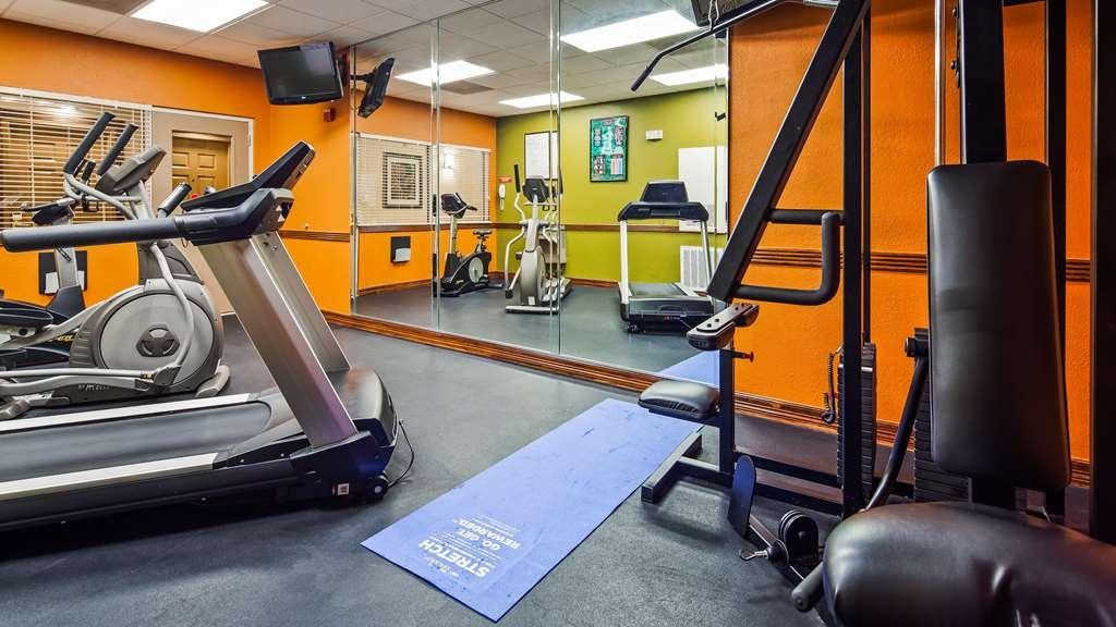 Best Western Plus Hobby Airport Inn & Suites - Fitnessstudio