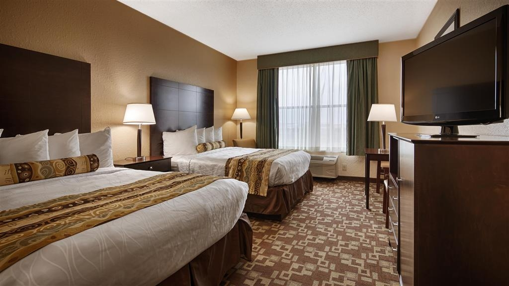 Best Western Plus Hobby Airport Inn & Suites - Chambres / Logements