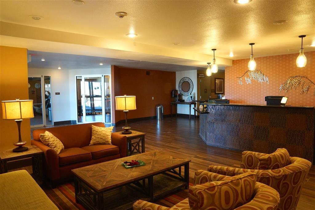 Best Western East El Paso Inn - Hall, reception