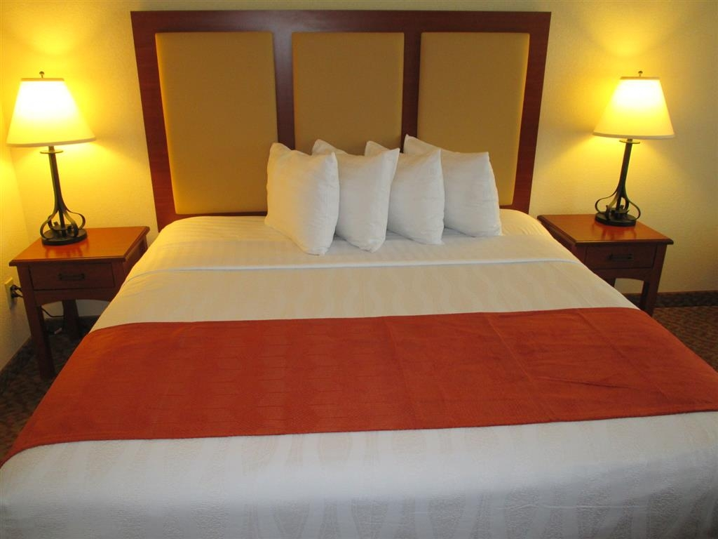 Best Western Plus Waxahachie Inn & Suites - Wake up refreshed in this king room, featuring a plush mattress and bedding.