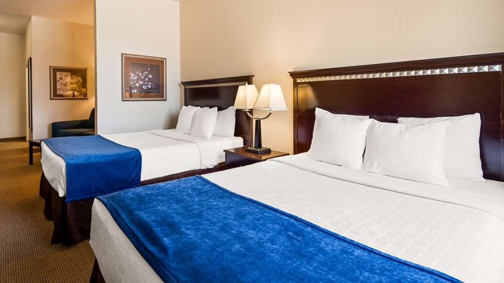Best Western Plus Seabrook Suites - Two Queen Guest Room