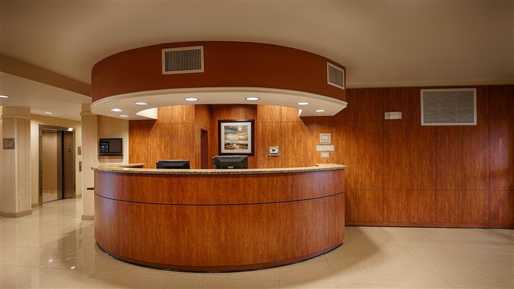 Best Western Plus Seabrook Suites - reception