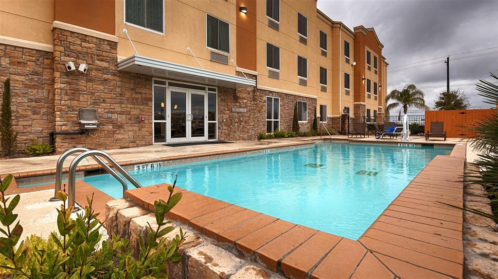 Best Western Plus Seabrook Suites - Piscina