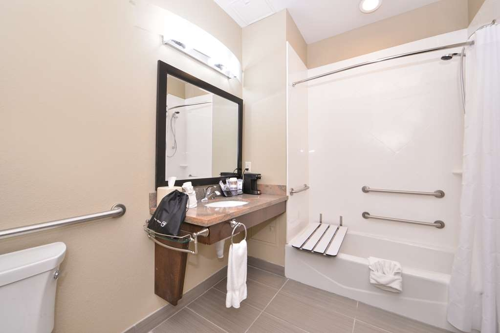 Best Western Plus Fort Stockton Hotel - Bagno