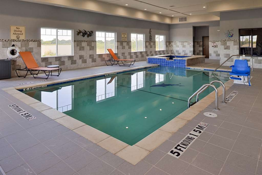 Best Western Plus Fort Stockton Hotel - Vue de la piscine