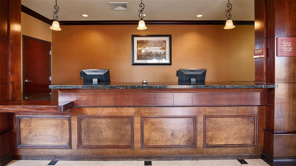 Best Western Orange Inn & Suites - Reception