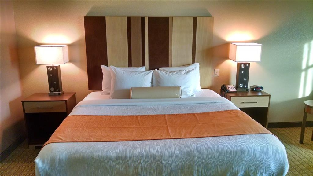 Best Western Plus Flatonia Inn - Relax after a long day of travel in our king guest room.