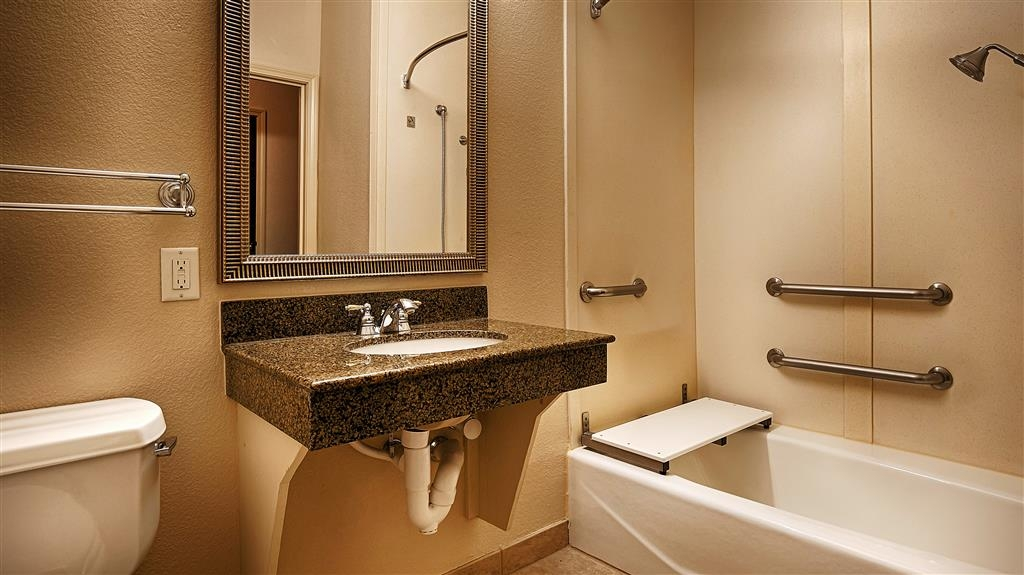 Best Western Plus Woodway Waco South Inn & Suites - Salle de bains