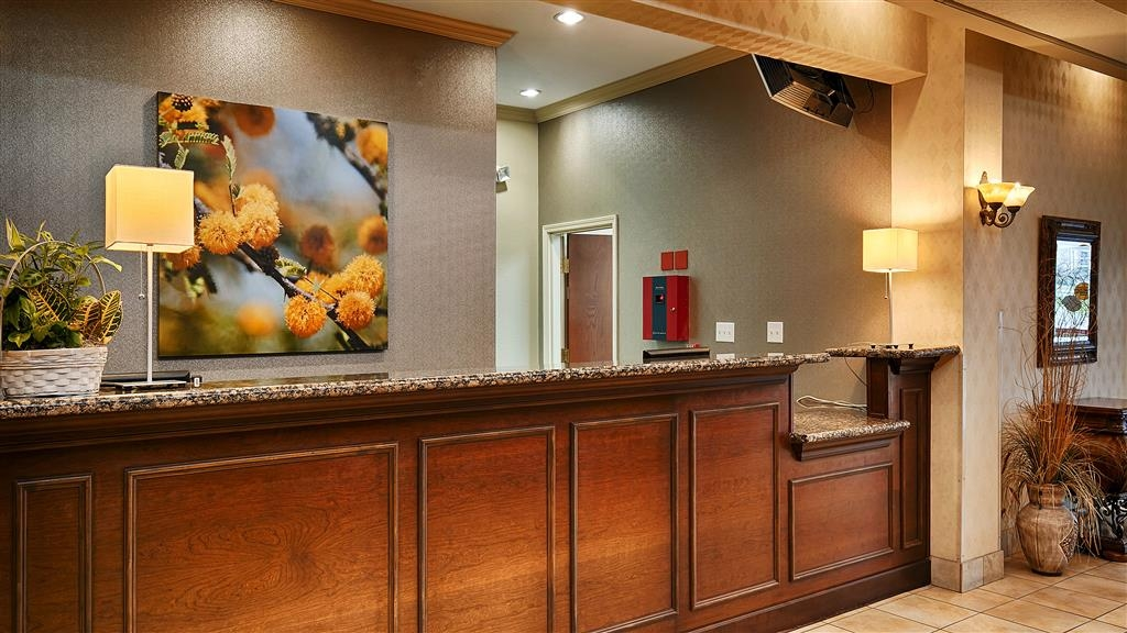 Best Western Plus Woodway Waco South Inn & Suites - Réception
