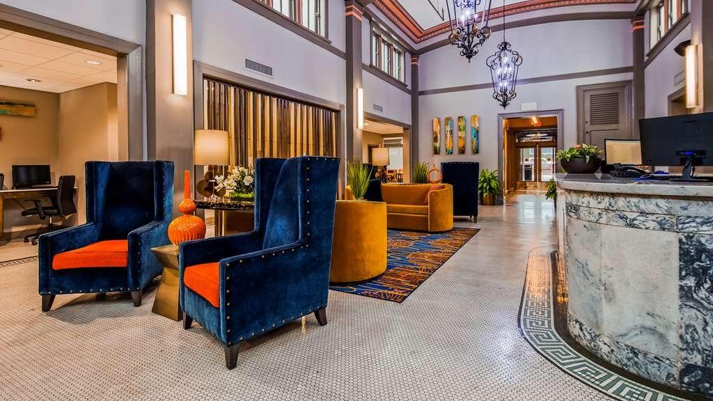 Best Western Premier Historic Travelers Hotel Alamo/Riverwalk - Lobbyansicht