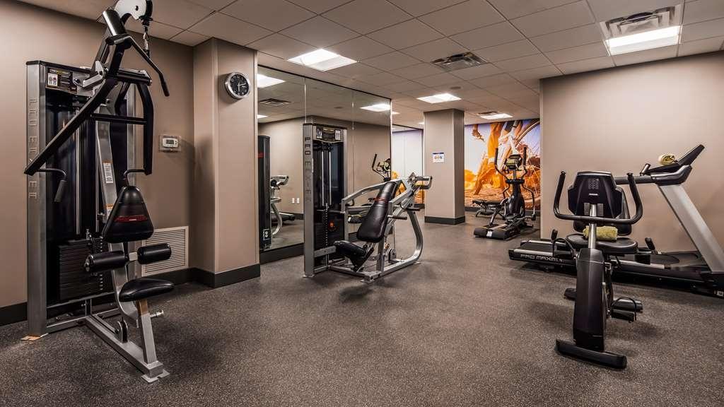 Best Western Premier Historic Travelers Hotel Alamo/Riverwalk - Fitnessstudio