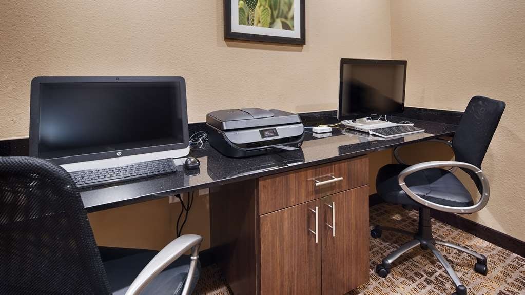 Best Western Plus Elmendorf Hotel - Stay productive during your time away from home in our business center.