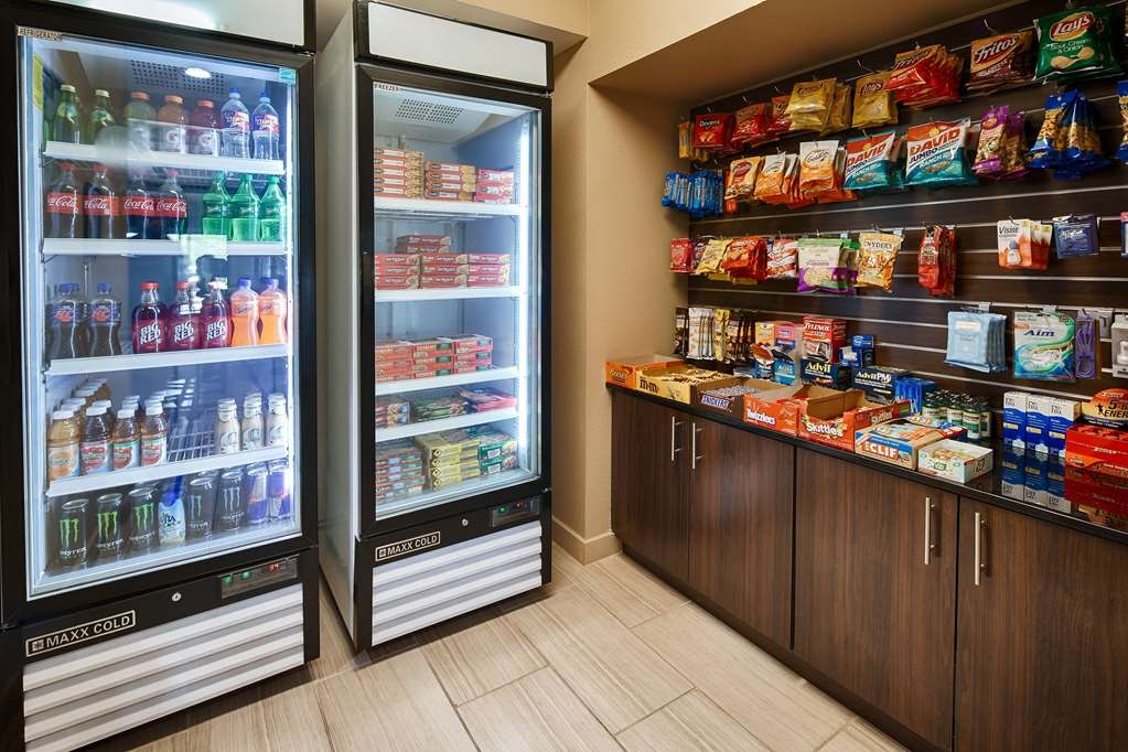 Best Western Plus Elmendorf Hotel - Craving a snack or something to drink? Stop by our Sundry Store located in the lobby.