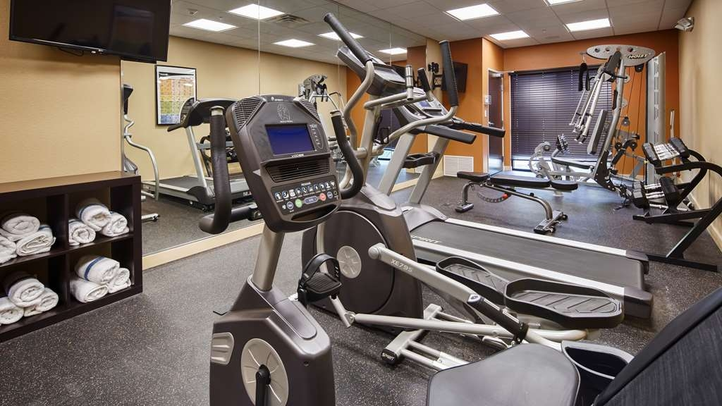 Best Western Plus Elmendorf Hotel - Our fitness center is outfitted with everything you need for a great workout.