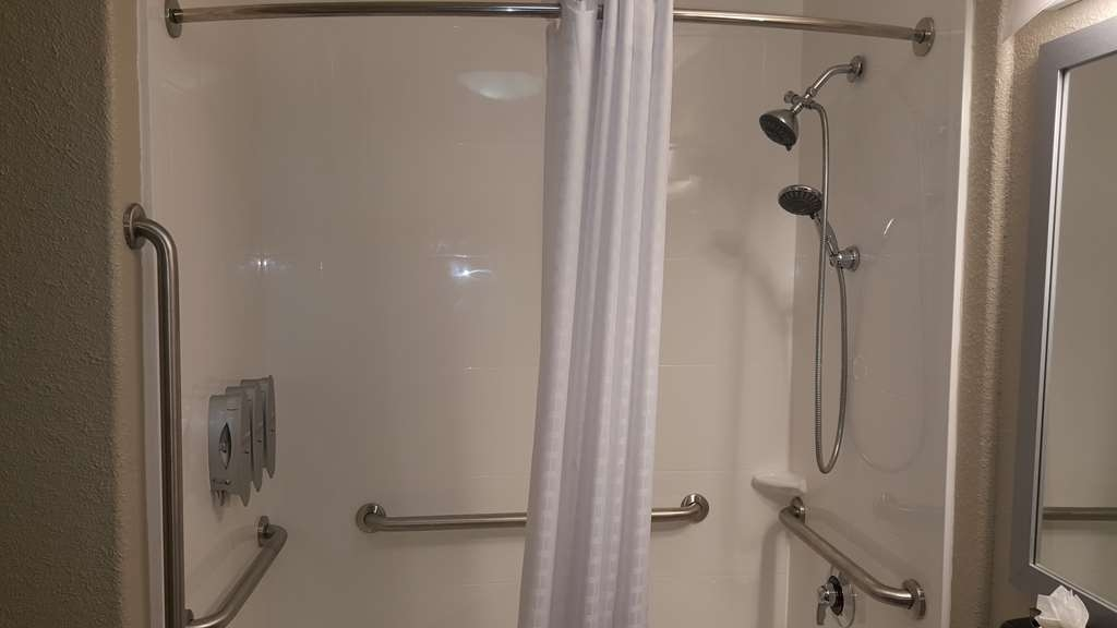 Best Western Boerne Inn & Suites - All guest bathrooms have a large vanity with plenty of room to unpack the necessities.