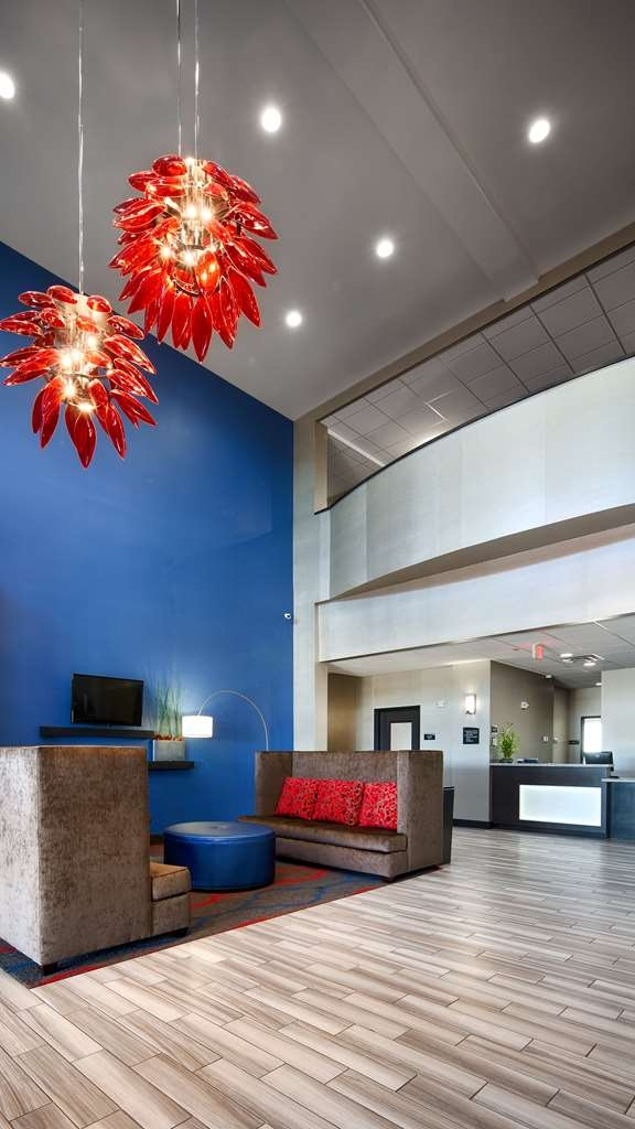 Best Western Plus Tech Medical Center Inn - Vista del vestíbulo