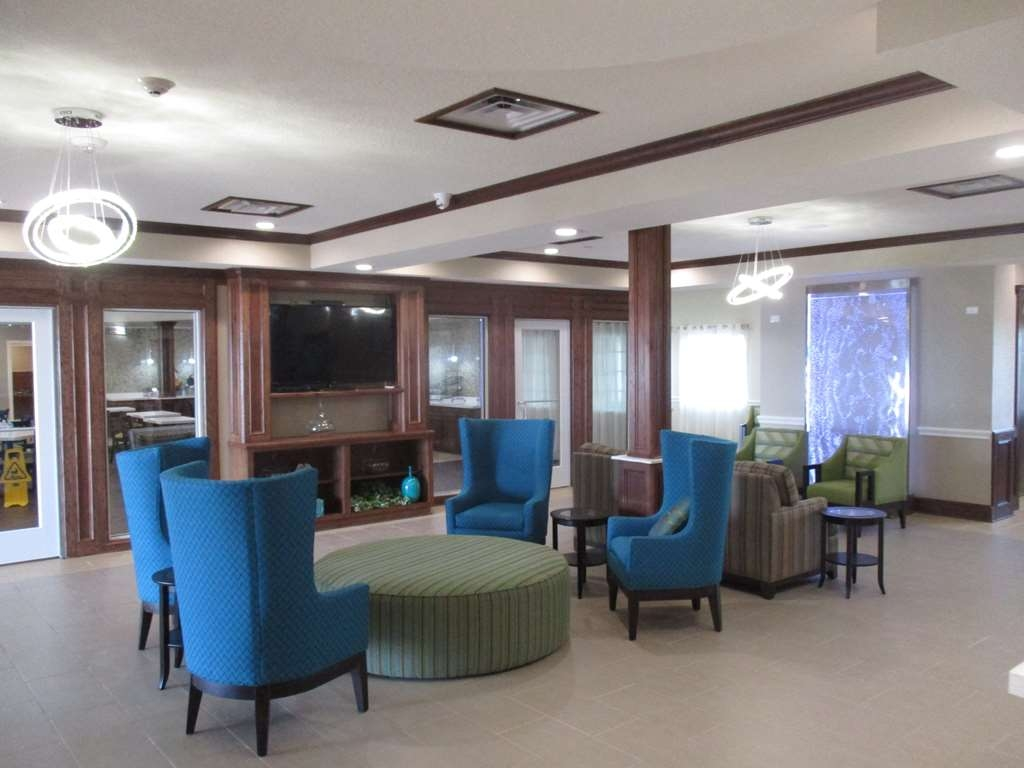 Best Western Plus Galveston Suites - Vista del vestíbulo