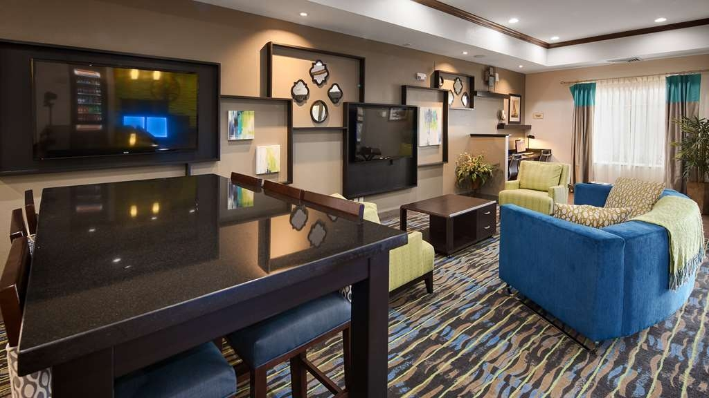 Best Western Plus Denver City Hotel & Suites - Vue du lobby