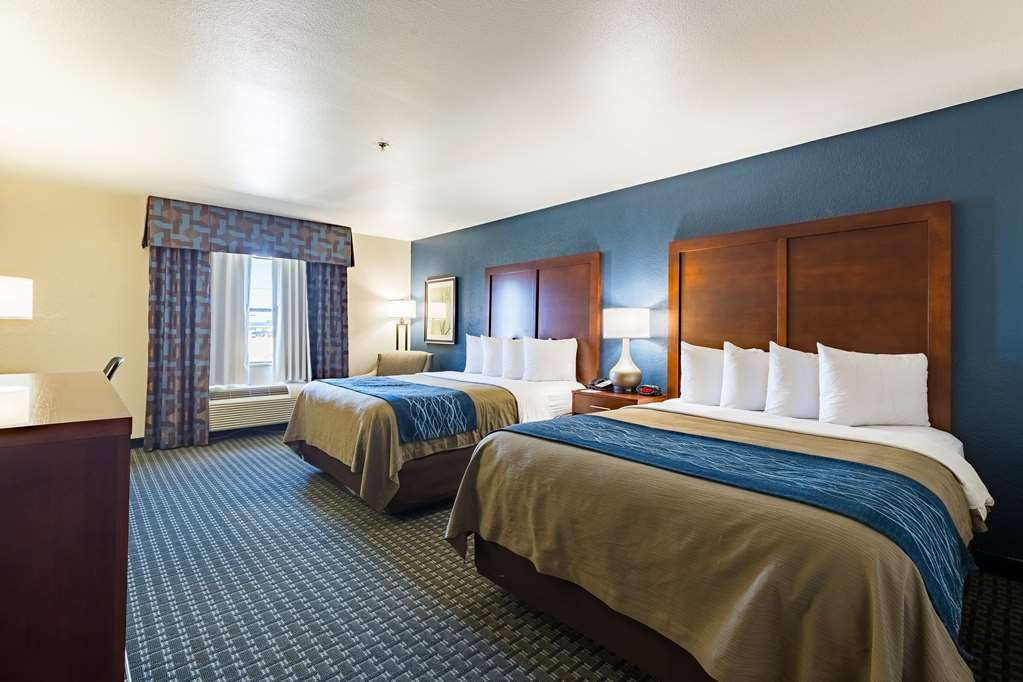 Best Western Northwest Corpus Christi Inn & Suites - We offer a variety of 2 queen rooms from standard to mobility accessible.